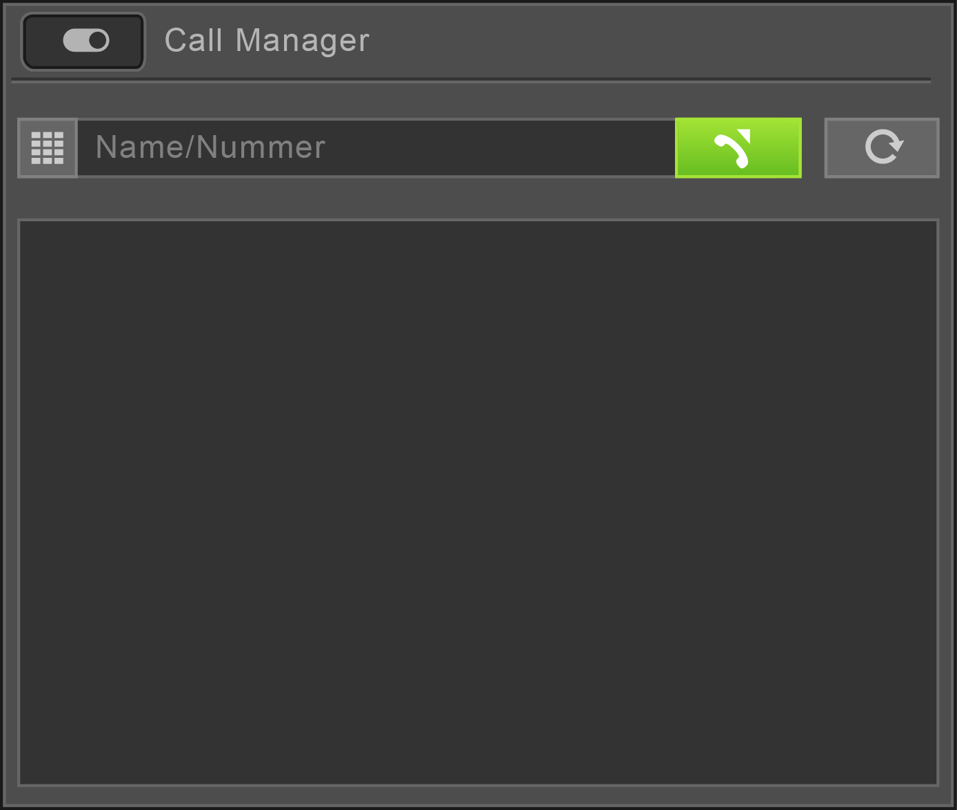 microPlan - Call Manager